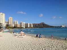 2. WAIKIKI BEACH, Oahu. Can't leave Waikiki off this list, although most of the hotels are glass towers. But you can drop in at the Royal Hawaiian, Moana Surfrider, and Halekulani for a touch of the golden years. The walk extends for a of couple miles to Kapiolani Park. Designer shops and gourmet eateries are sprinkled along Kalakaua Boulevard, the main drag.