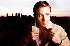 Ryan Gosling suiting up