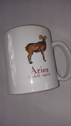 #Aries Large #Coffee Mug Cup Hausenware Big #Arian March 21-April 19 Action Energy http://www.ebay.com/itm/-/291538965385?roken=cUgayN&soutkn=FF16mv #astrology #bogo #giftidea #tbt