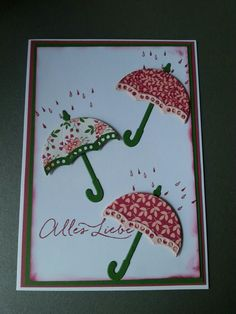 Stampin up Donnerwetter - weather together