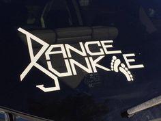 Dance Junkie® Car Decal