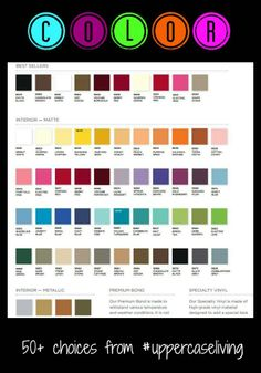 #color #choices #uppercaseliving #vinyl