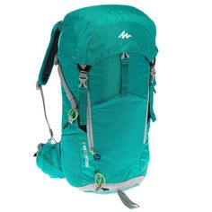 12f493d8310e8 35 - Hiking Bags and Travel Accessories - F 20 W Air Backpack - Green  QUECHUA. DECATHLON