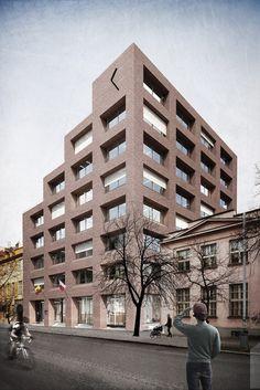 Atelier bod architekti s. Public Architecture, Modern Classic, Arches, Multi Story Building, Tower, Exterior, World, Outdoor, Facades