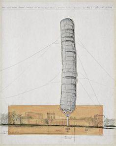 Christo y Jeanne-Claude El proyecto del sueño al objeto. #Alterciclo #Blog #Arte #Christo #Proyectos #Dibujo #LandArt #Installation #Sculpture