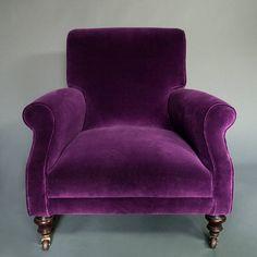 Victorian Velvet Armchair from notonthehighstreet.com