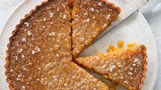 Vanilla treacle tart   SBS Food