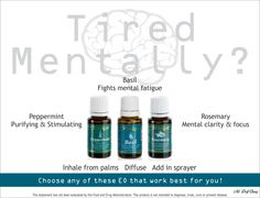 Mentally exhausted? Young Living essential oils can help!