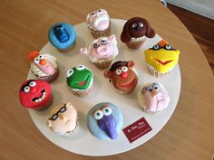 Cupcakes Muppets #alpanpandf pedidos al 5530688559