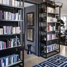 Celerie Kemble double book case  #interiordesign #decor #homedesign #homedrcor #architecture