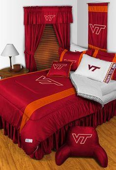 Virginia Tech Hokies Sidelines Bedding Collection
