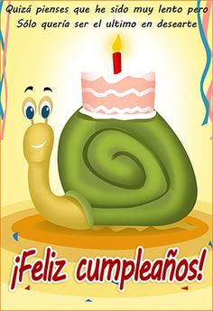 """""""Caracol lento"""" printable card. Customize, add text and photos. print for free!"""