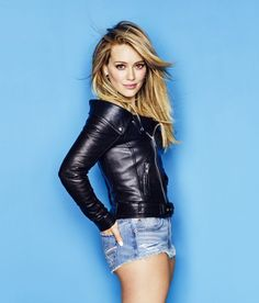 hilary duff cosmopolitan april 2015 03 Hilary Duff looks smokin' hot in short shorts and a tight jacket on the cover of Cosmopolitan magazine's April 2015 issue, on newsstands March Here's what… Mini Shorts, Short Shorts, Sexy Shorts, Hilary Duff Style, Aaron Carter, Hollywood, Blond, The Duff, Girl Crushes