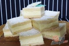 Grandma& heavenly good cream cake that is incredibly easy to .- Omas himmlisch guter Sahne-Kuchen, der unglaublich einfach ist Grandma& heavenly good cream cake that& incredibly easy Sweet Desserts, No Bake Desserts, Sweet Recipes, Baking Recipes, Cake Recipes, Czech Recipes, Sugar Cake, Pudding Cake, Food Cakes