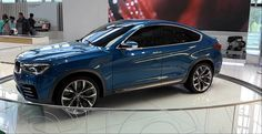 This summer the new BMW X4 Sport Activity Coupe crossover will be available.