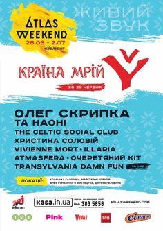 "Atlas Weekend It will be ""Damn Fun""… Social Club, Concerts, Fun, Posters, Poster, Billboard, Hilarious"
