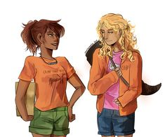 Annabeth and piper swapped places