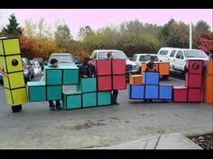 30 Unexpected Halloween Costumes You Can DIY - it would be amazing if we could get our whole grade to dress up as tetris blocks. ahahahahahaha @Saige Huiet @Jessica Feng