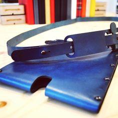 New sleeve is online now. #germanmade #ipadmini #sleeve #leather