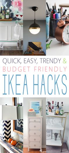 Quick, Easy, Trendy and Budget Friendly IKEA Hacks - The Cottage Market