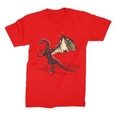 There Be Dragons Unisex Fine Jersey T-Shirt