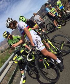 Tinkoff Saxo on Canary Islands Spain, training for the 2016 season