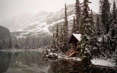 Places to propose Cabin By Lake