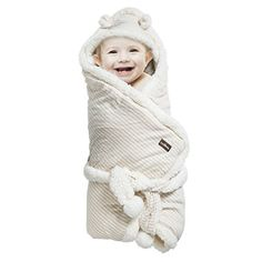 Baby Receiving Blanket - Organic Un-Dyed Cotton Swaddle Wrap Blanket – Unisex for Boys and Girls