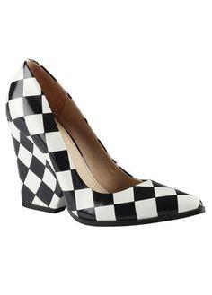 Aldo checkerboard shoes