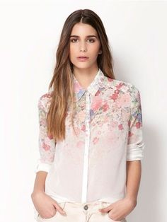 Women' Office  Long Sleeve   Blouse Blouses from stylishplus.com