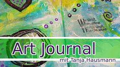 Art Journal Page Mixed Media - 5/2017 - Wer kämpft... . Mein fünftes Art Journal 2017 ist da - natürlich auch wieder mit einem schönen Spruchstempel - schaut mir zu! Art Journal process (deutsch) - Nichts ist falsch - alles ist möglich :) #artjournal
