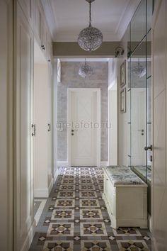 Фотобанк Грета Вульф - Коридор, прихожая, холл | Пол | Метлахская плитка | Winckelmans | #gretawolf #tiles #плитка