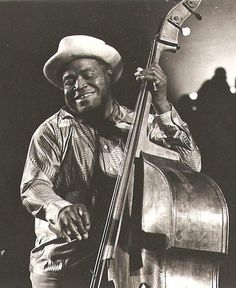 """Remembering William James """"Willie"""" Dixon (July 1, 1915 – January 29, 1992) who was an American blues musician, vocalist, songwriter, arranger and record producer."""