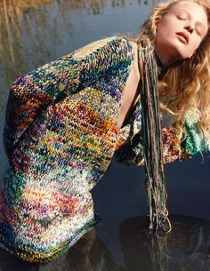 Missoni F/W '16-17 | wonderful shaded yarn