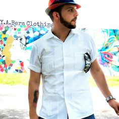 We all recognize the iconic guayabera, a shirt that transcends time and will forever remain a classic in the fashion world.  (We) Y.A.Bera clothing just created a moden fit guayabera for the modern world. We're keeping the tradition alive with a new twist. Go get yours while they last, the colors and designs always change.  modern art + iconic shirt = Y.A.Bera Clothing  View the collection at www.yaberaclothing.com