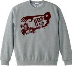RACE : HEAVY DRUNK ZOMBIES [半袖Tシャツ [6.2oz]] - デザインTシャツマーケット/Hoimi(ホイミ)