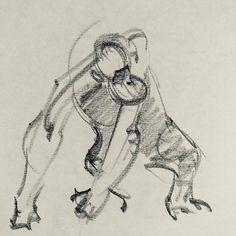 "Richard Powell on Instagram: ""#draw #drawing #drawings #sketches #chimpanzee #animal #animaldrawing #primate #dailydrawing #draweveryday #gesturedrawing #gesture #pencil…"" Gesture Drawing, Drawing S, Sketches, Chimpanzee, Daily Drawing, Primates, Animal Drawings, Instagram, Animals"