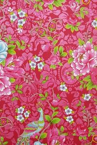 PiP Flowers in the Mix Red wallpaper