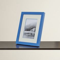 Viv + Rae Lyla Tabletop Picture Frame Color: Blue, Size: x Amazon Photo Frames, Picture Frames Online, Picture Frame Sizes, Collage Picture Frames, Hanging Frames, Frames On Wall, Contemporary Picture Frames, Frame Crafts, Picture On Wood