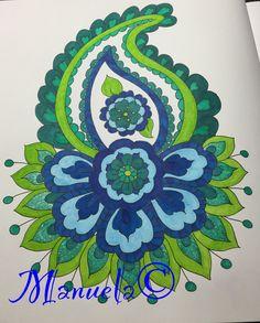 Uit Mijn Wonderlijke Wereld deel1 van Masja | Gekleurd met Letraset Promarker | 03-12-2015