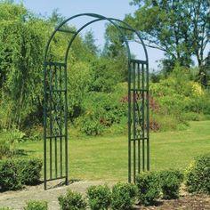 Patio Garden Decor Backyard Weddings Yard Styled Arch Durable Metal Arbor Steel #GardenDecorStyledArchArborSteel