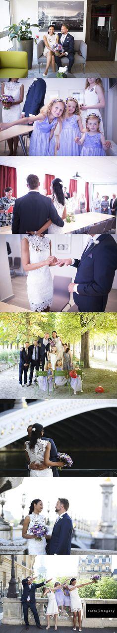 Bryllup på den norske ambassaden i Paris.  Norsk brudepar med nærmeste familie i Paris våren 2017. Bryllups-fotografering med fotograf totte-imagery.com. Fotografen organiserer også sjåfør, hår og make-up hvis brudeparene ønsker dette. Hun fotograferer bryllup i Paris og ellers i Europa.