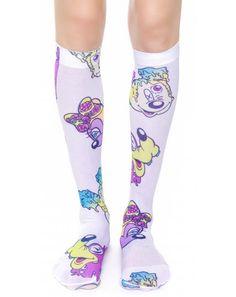 meltin #disney socks http://www.dollskill.com/accessories/socks.html