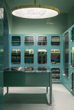 Дизайн бутика товаров для ухода за кожей в Милане (Интернет-журнал ETODAY)