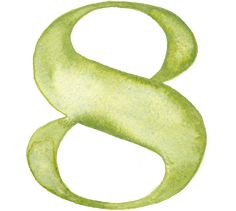 Watercolor Numbers #typography