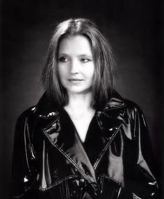 Vintage Black PVC Raincoat