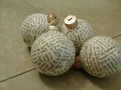 Book ornaments for xmas community project. tween library craft.