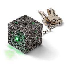 Star Trek Borg Cube Keychain Flashlight