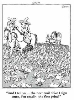 """The Far Side"" by Gary Larson. Gary Larson Comics, Gary Larson Cartoons, Far Side Cartoons, Far Side Comics, Cute Comics, Funny Comics, Gary Larson Far Side, Funny Toons, Hilarious"