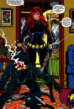 Black Widow by George Perez